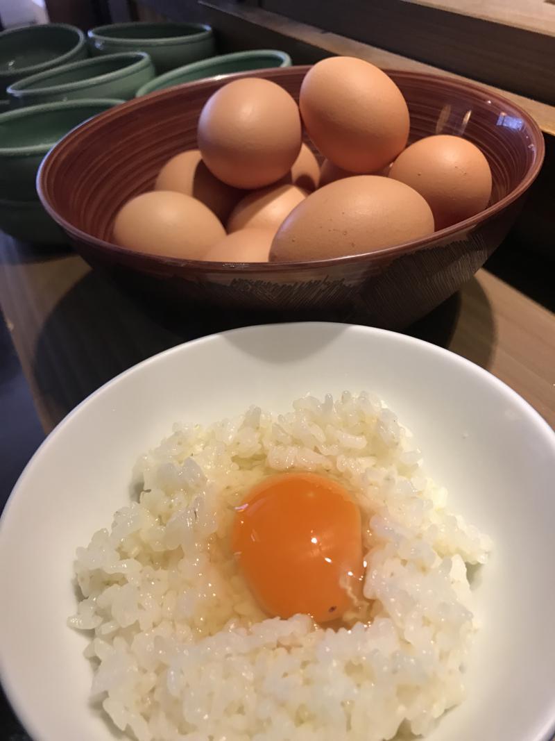 最高の卵かけご飯